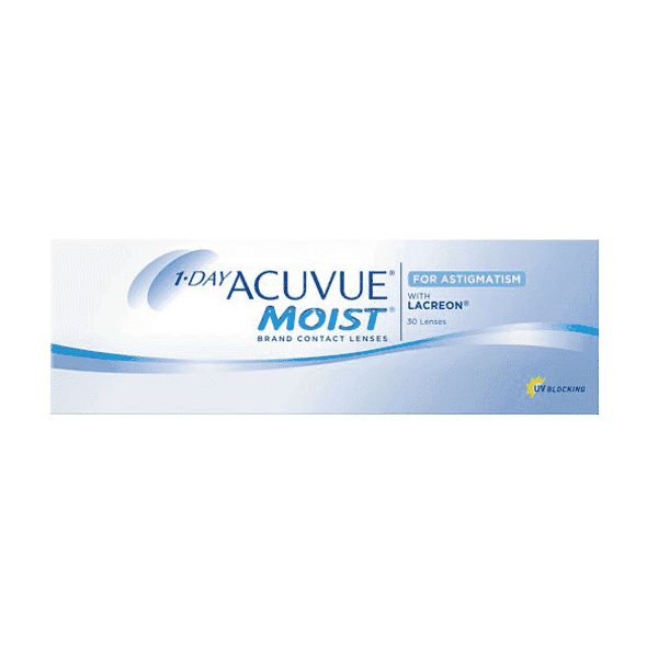 Image of 1 Day Acuvue Moist for Astigmatism 30er