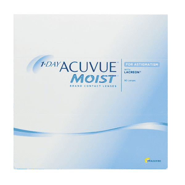 Image of 1 Day Acuvue Moist for Astigmatism 90er