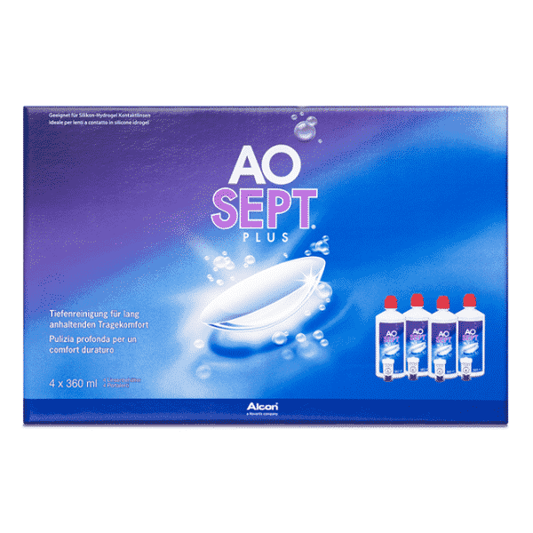 Image of AOSept Plus - 4 x 360ml