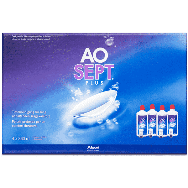 Image of AOSept Plus - 4 x 360ml