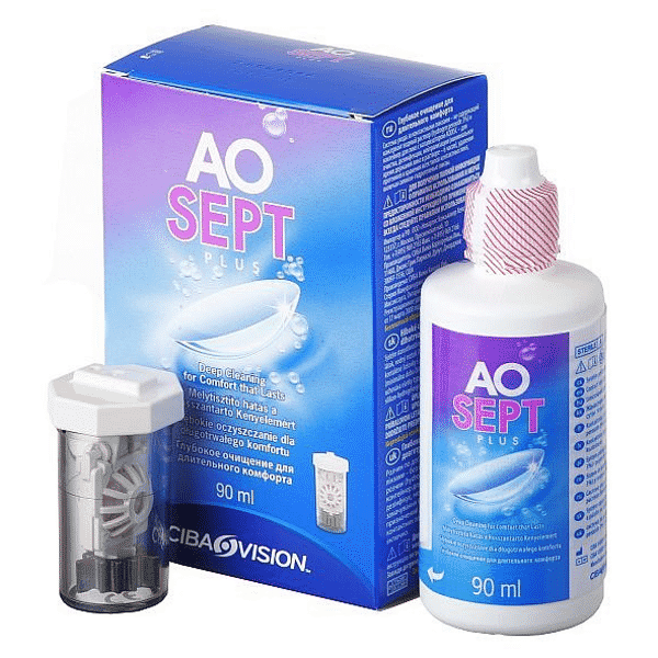 Image of AOSept Plus - Travelpack (90ml)