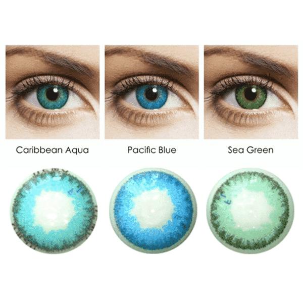 Freshlook Dimensions Sea Green >> FreshLook Dimensions 2er - Linsenklick